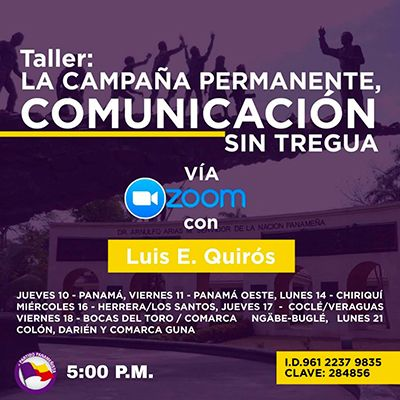 Taller con Luis E. Quiros