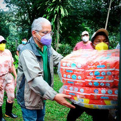 Panameñistas llevan apoyo a Comarca Ngäbe Buglé y Chiriquí