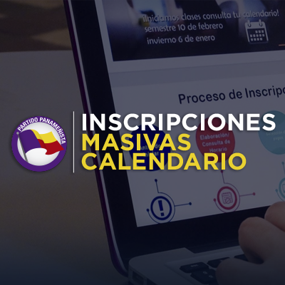 CALENDARIO DE INSCRIPCIÓN