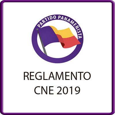REGLAMENTO CNE 2019